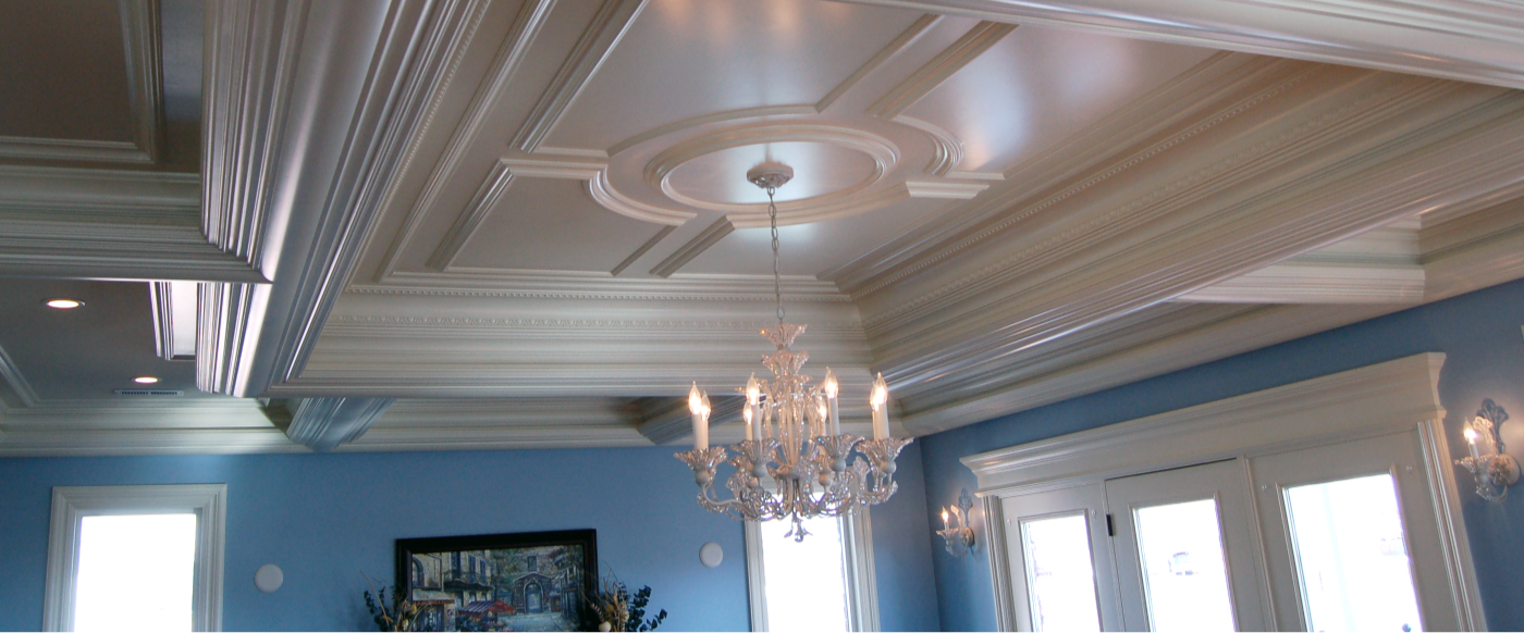 Utah molding installed by InteriorWorx Moulding